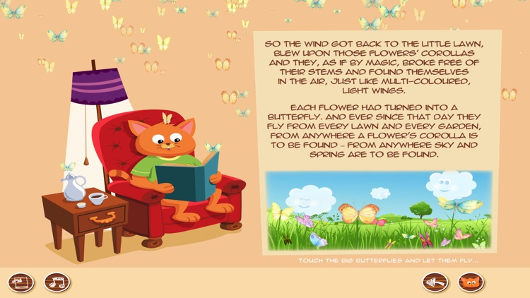 Kid Stories 1 - Read & Play screenshot-6