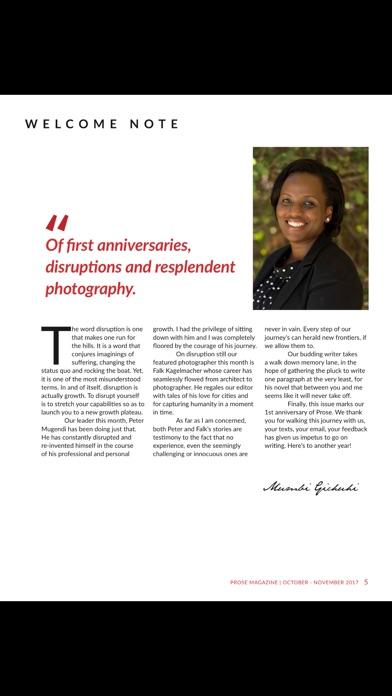Prose magazine screenshot 5