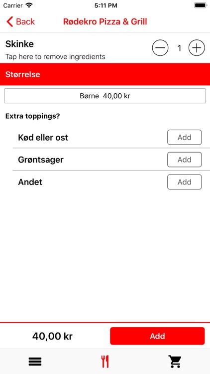 Rødekro Pizza & Grill screenshot-4