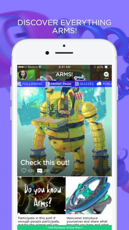 Amino for ARMS Players