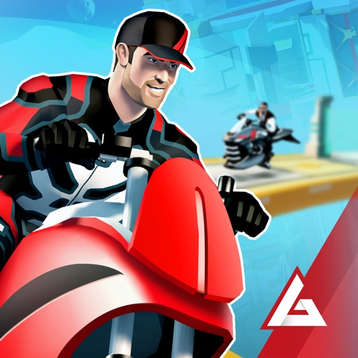 Download Gravity Rider: Power Run free for iPhone, iPod and iPad