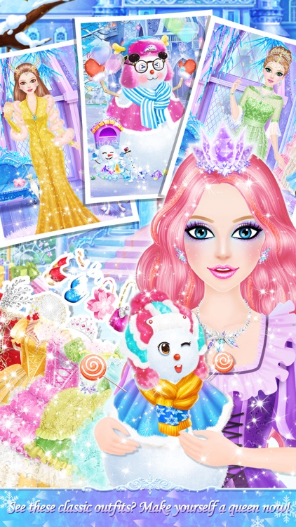 Princess Salon: Frozen Party screenshot-3