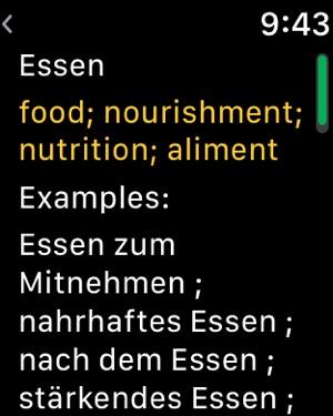 German Dictionary Translator On The