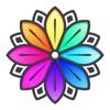 タップ & 色塗り - 大人 向け 塗り絵 暇つぶし ゲームアイコン