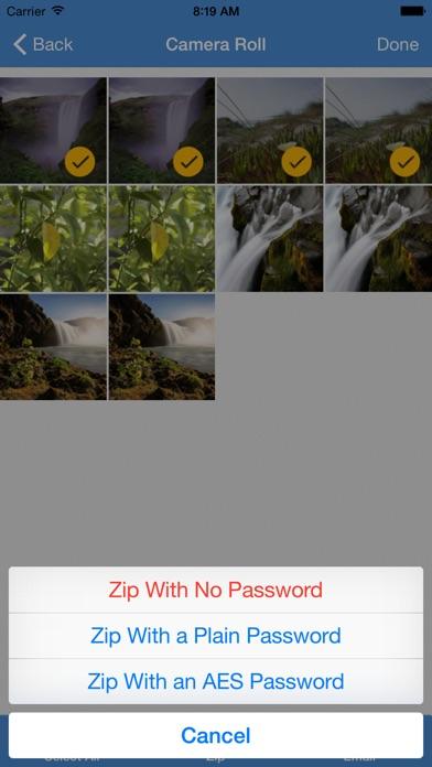 iZip Pro - Zip 圧縮、解凍の... screenshot1