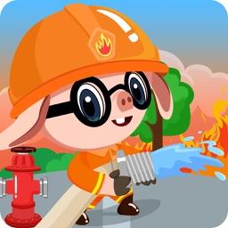 我是消防员-三只小猪