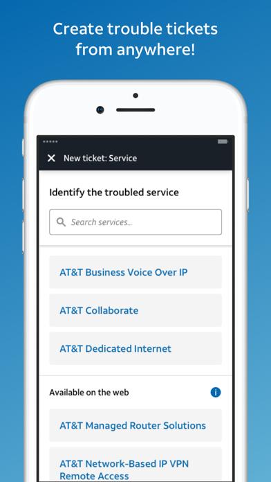 AT&T BizCenter screenshot 1