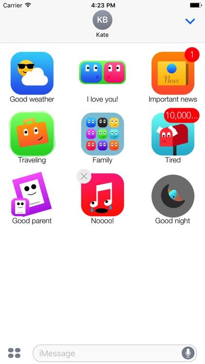 App Story Stickers