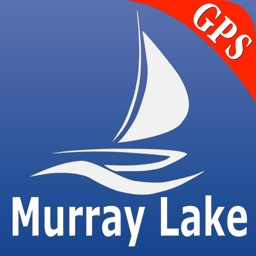 Murray lake GPS nautical Chart