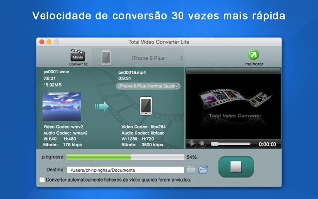 converter video mp4 para 3gp android