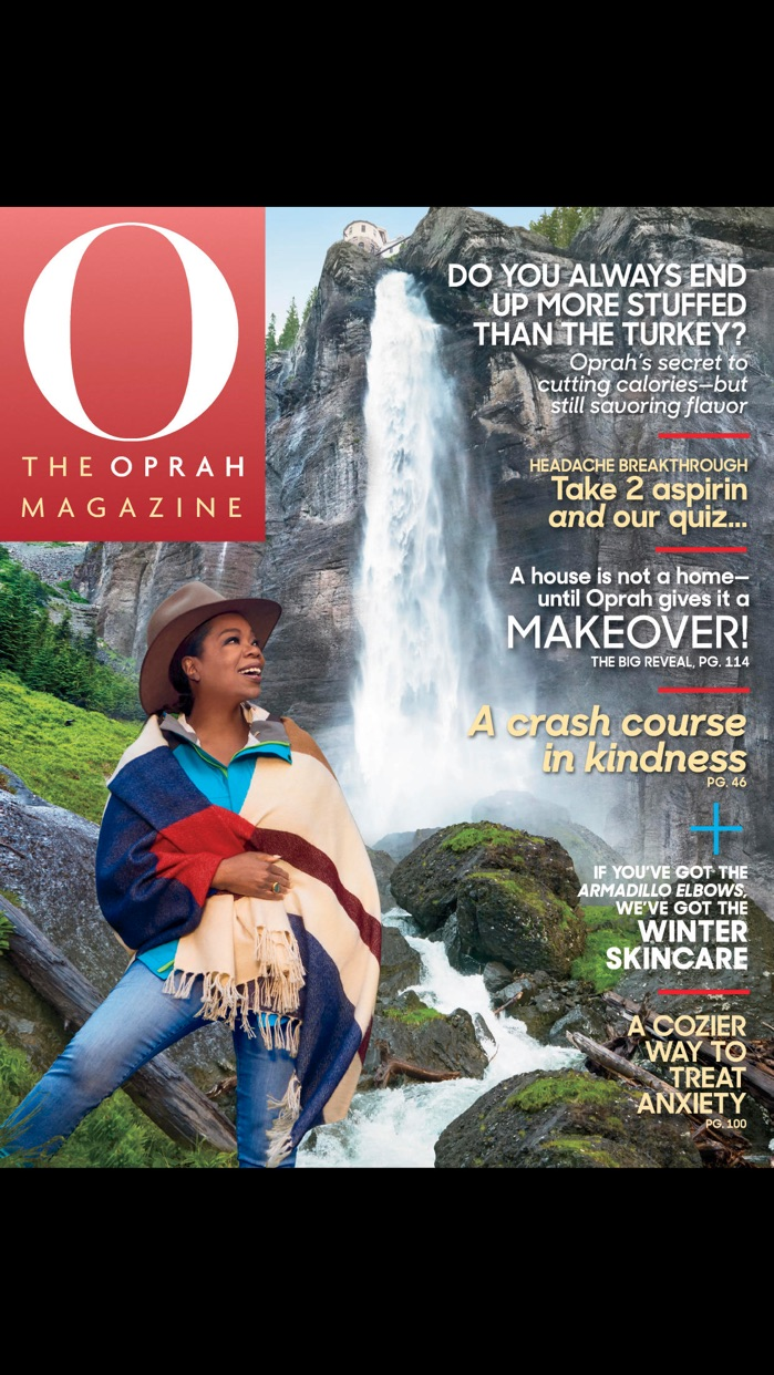 O, The Oprah Magazine US Screenshot