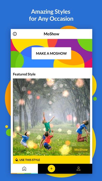 MoShow - Photo Slideshow Maker screenshot-3