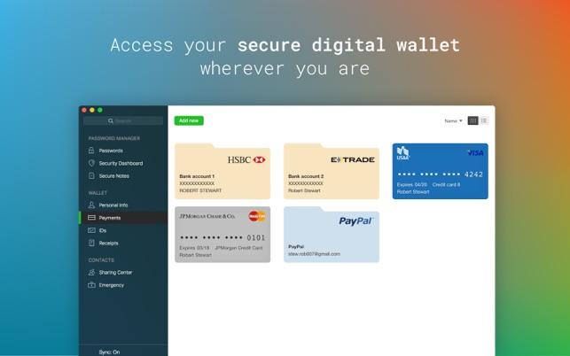 dashlane how to change password