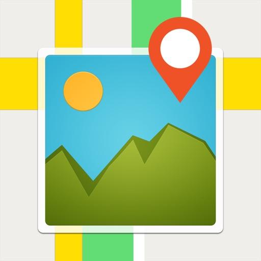 【日记本相集】相册地图 - 找到照片的足迹