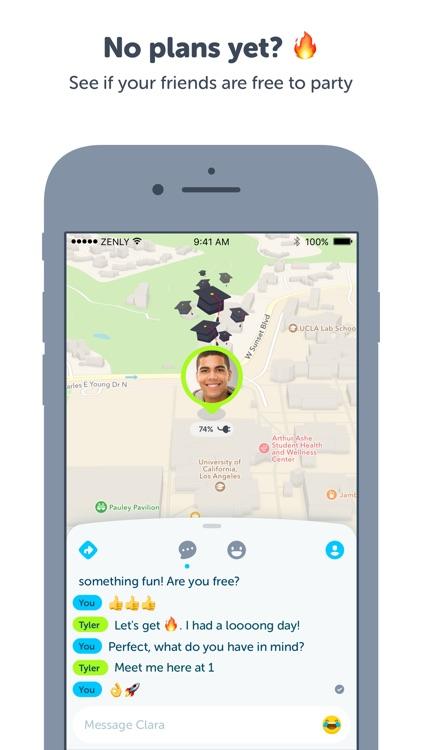 Zenly - Locate your friends in realtime screenshot-4