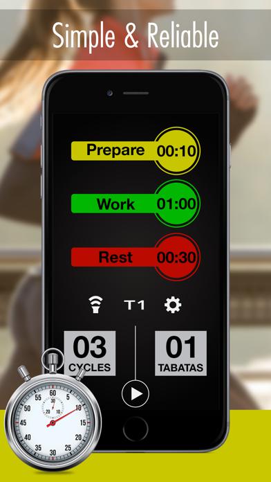 Tabata Timer Pro - Workout Timer for Tabataのおすすめ画像1