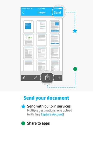 HP JetAdvantage Capture on the App Store