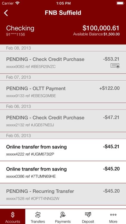 First National Bank Suffield screenshot-3