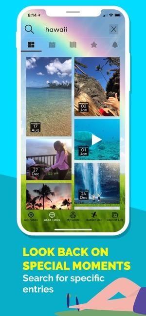 My Life Journaling App Screenshot