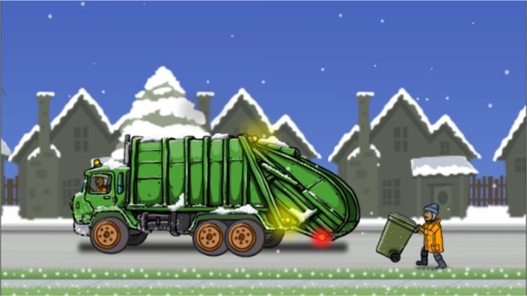 Garbage Truck: Snow Time screenshot-4