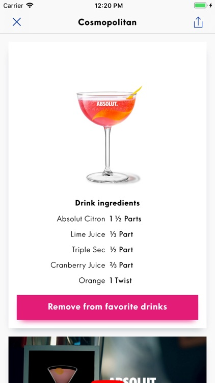 Drinkspiration - Drink Recipes screenshot-0