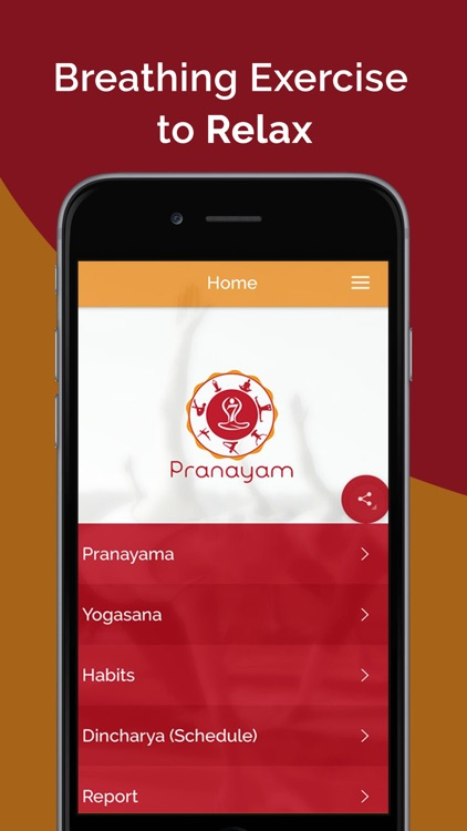 7pranayama -Yoga Fitness Plan screenshot-1
