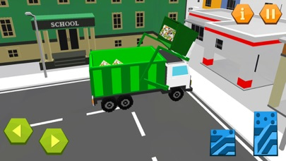 City Garbage Truck Recycle sim screenshot four