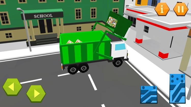 City Garbage Truck Recycle sim screenshot-3