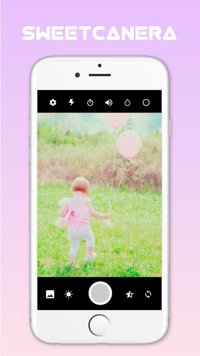 SweetCamera ピンク加工 カメラアプリのおすすめ画像1