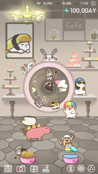 Rolling Mouse -tap tap hamster screenshot one