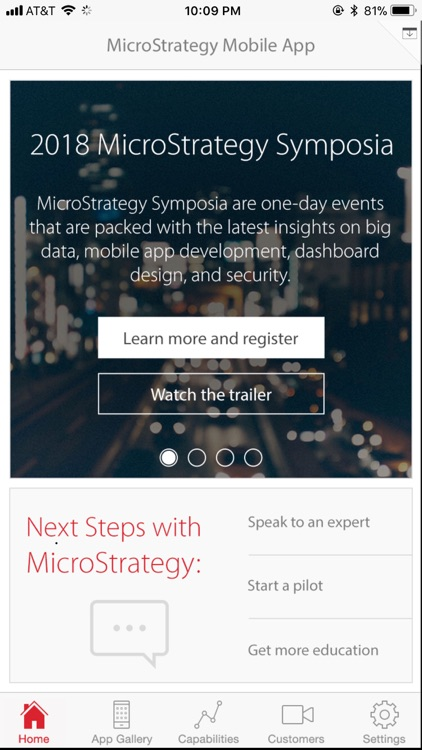 MicroStrategy Mobile iPhone screenshot-0