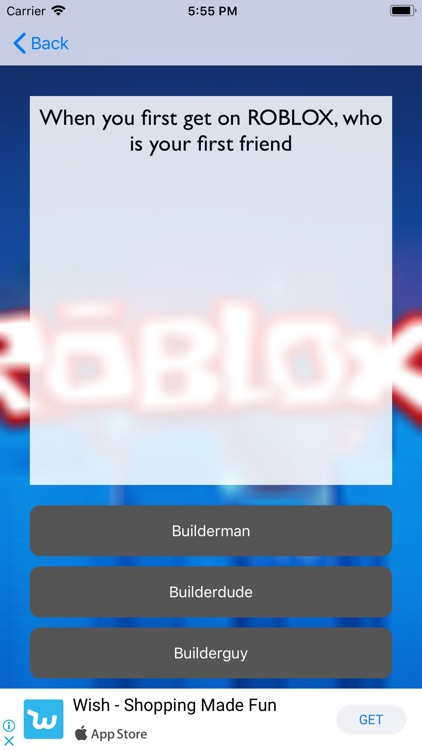 Quiz Roblox for Robux screenshot-4