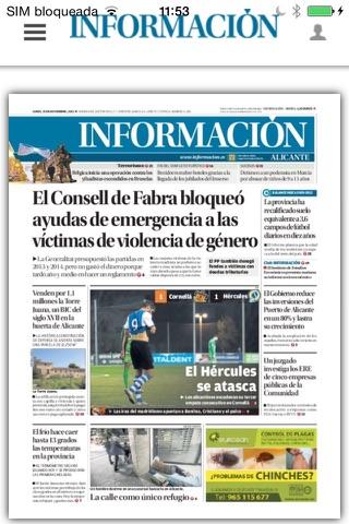 Kiosco Diario Información - náhled