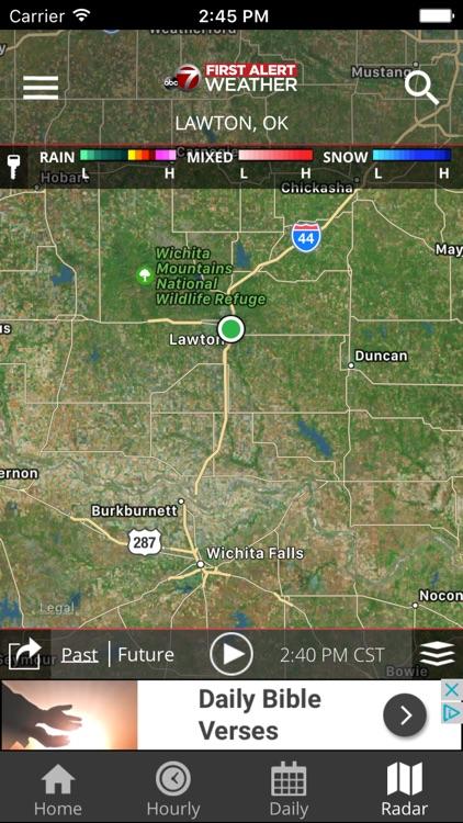KSWO First Alert 7 Weather screenshot-3