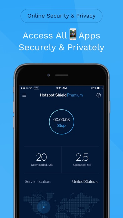 HotspotShield VPN & Wifi Proxyスクリーンショット