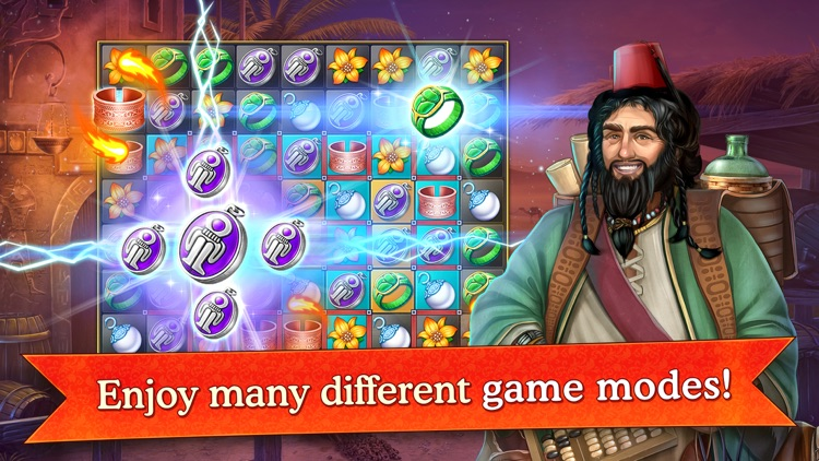 Cradle of Empires Match-3 Game screenshot-1