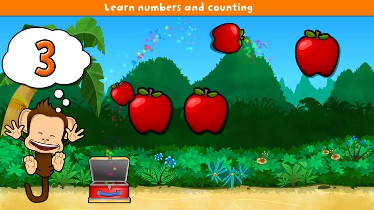 Monkey Preschool Lunchbox
