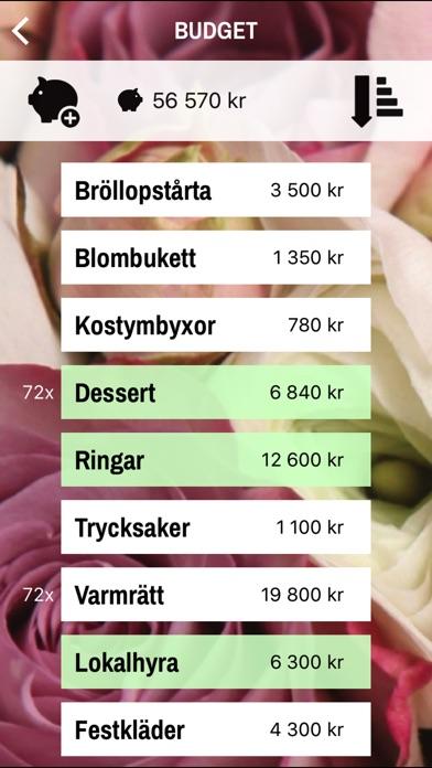 Screenshot for Bröllopsplaneraren in Sweden App Store