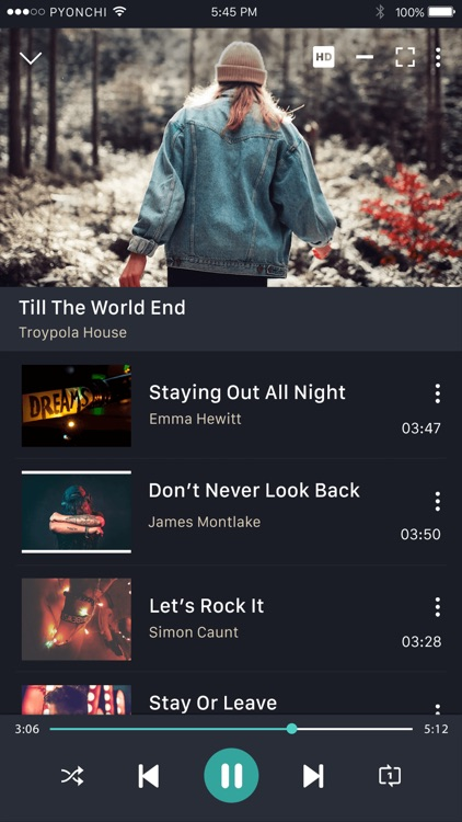 MusicOZ: Music player screenshot-8