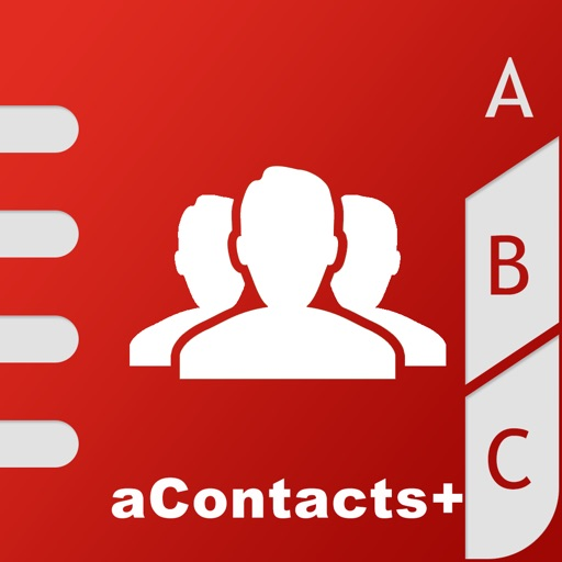 aContacts - Contact Manager iOS App