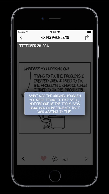 xkcd: Open Source screenshot-3