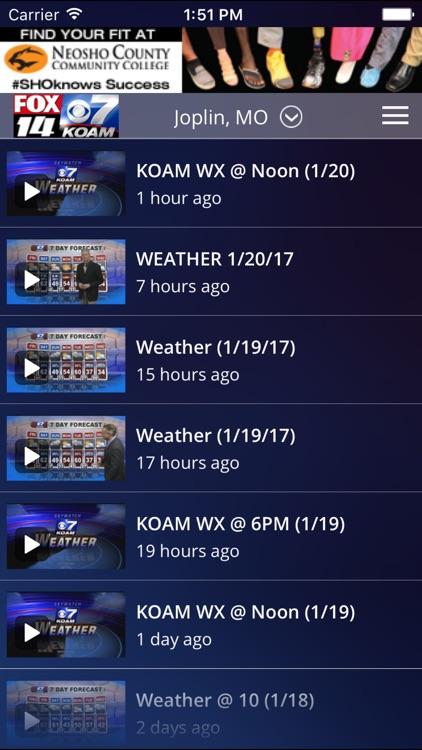 KOAM Wx screenshot-3