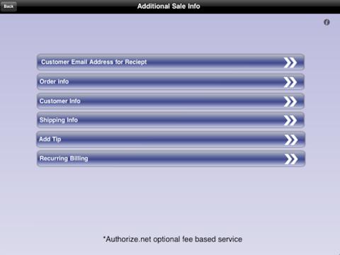 Screenshot of Leaders Credit Card Processing