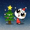 Xmas & New Year Animated Cat