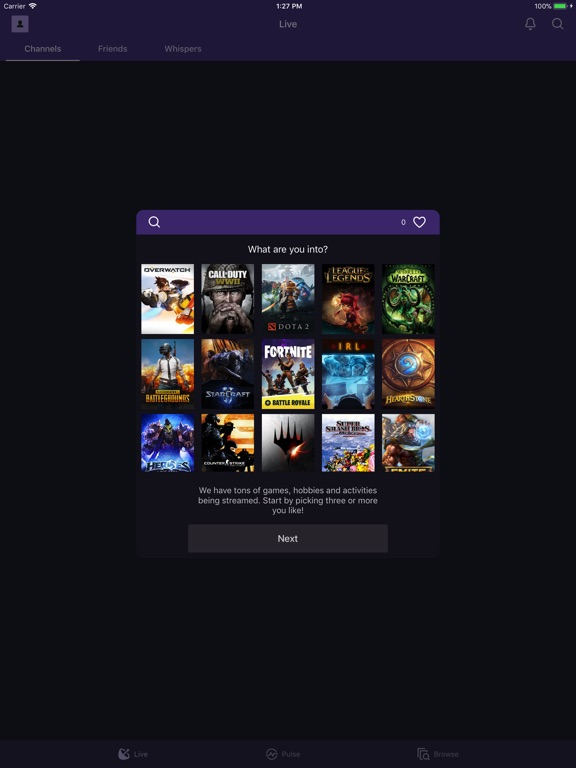 Twitch Screenshots