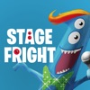 Stage Fright Monster Sticker