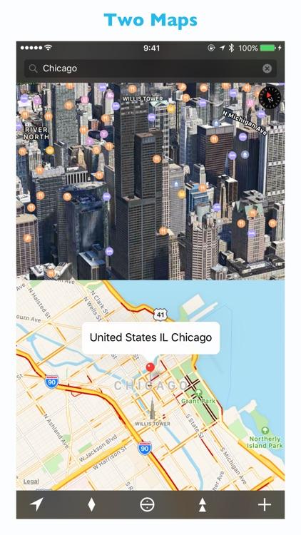 We Maps 04 - 3D Map + 2D Map screenshot-3