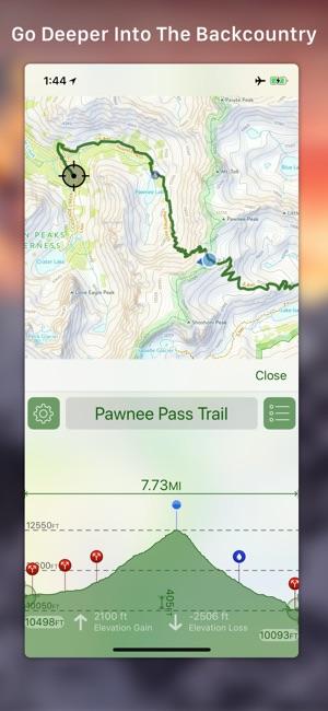 Topo maps en app store gumiabroncs Choice Image
