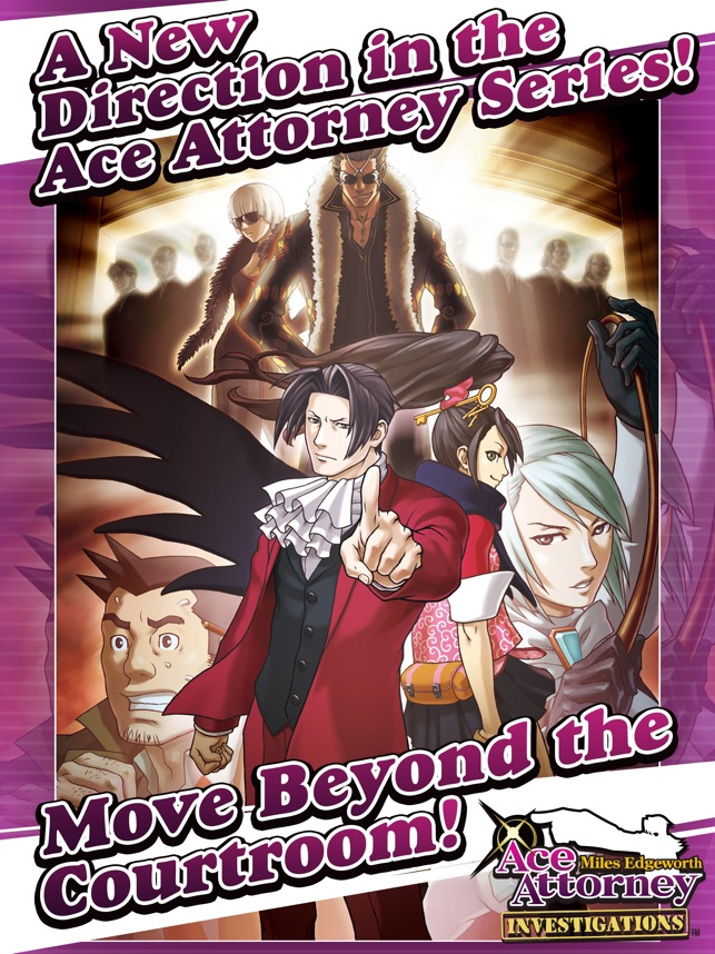 Ace Attorney Investigations On The App Store