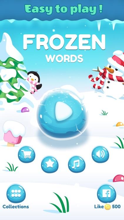 Frozen Words - Word Crossy